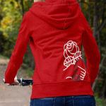 Democractic Socialists of America Red Zip Hoodie