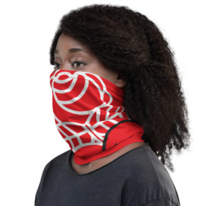 Democractic Socialists of America Red Neck Gaiter Face Mask