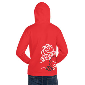 Democractic Socialists of America Red Pullover Hoodie