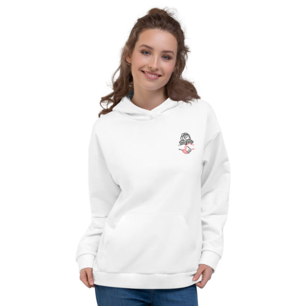 Democractic Socialists of America White Pullover Hoodie