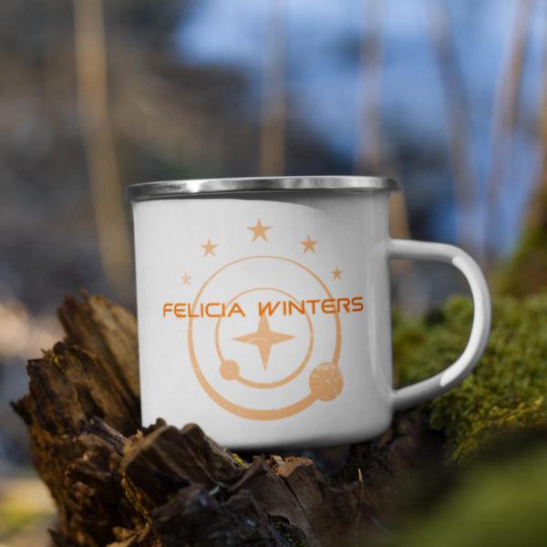 Felicia Winters Enamel Mug