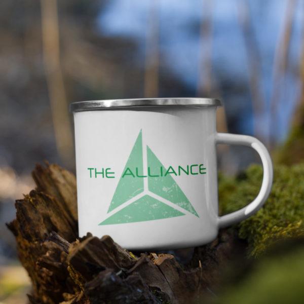 The Alliance Enamel Mug