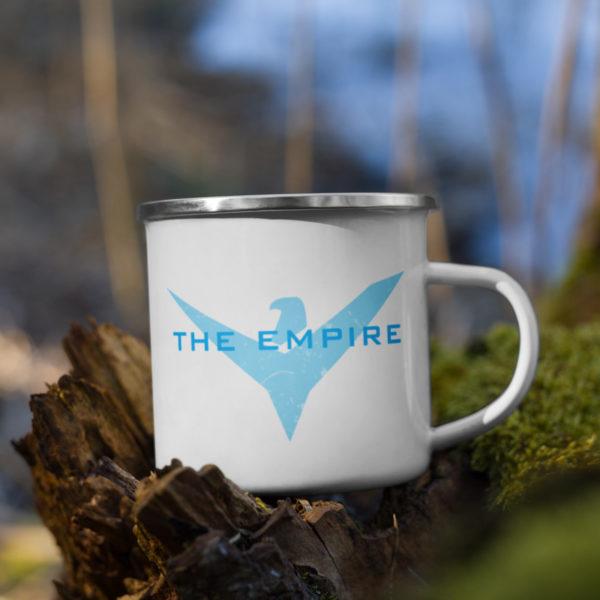 The Empire Enamel Mug