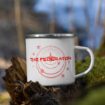 The Federation Enamel Mug