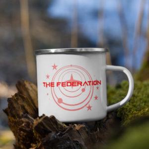 Elite Dangerous Federation Coffee Mug