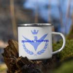 Zemina Torval Enamel Mug
